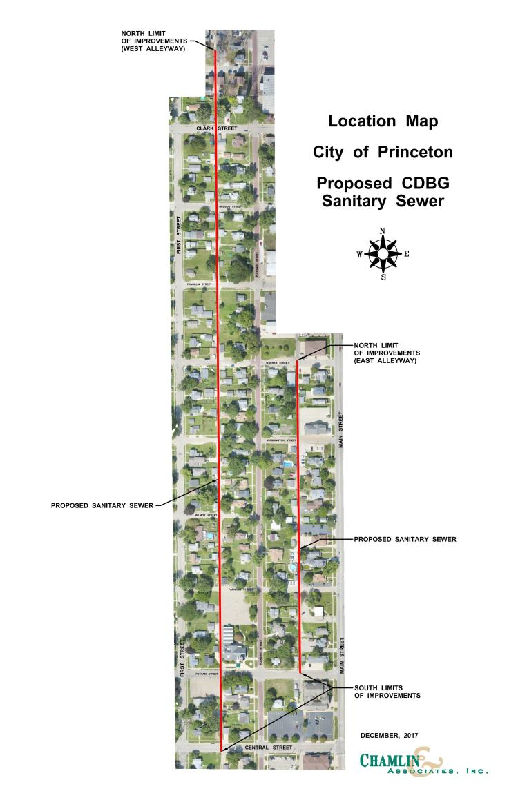 Illinois Map Grant 2017.City Of Princeton Receives Cdbg Grant Funds City Of Princeton Il