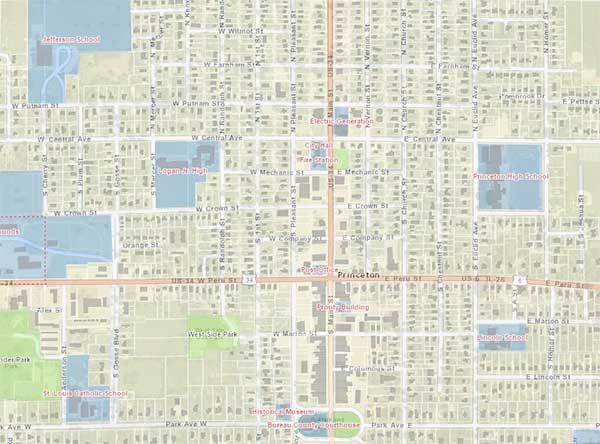 Interactive Mapping & GIS | City Of Princeton, IL | Official Website on